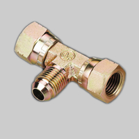 EJ JIC FEMALE 74° SEAT/ JIC MALE 74°CONE BRANCH tee tube connector