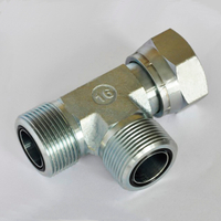 CE METRIC MALE O-RING /METRIC FEMALE TEE HIGH QUALITY hydraulic controls